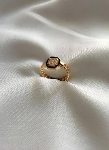 My Joyas Design Elmas Kesim Yüzük Altın